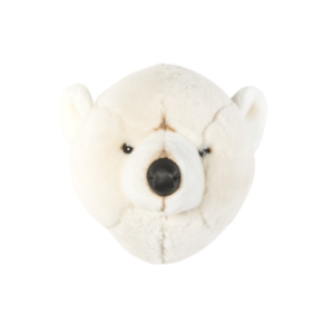 tête trophée ours blanc basile wild and soft my little cocoon brest