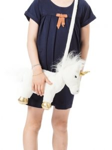 sac a main peluche licorne wild and soft my little cocoon brest