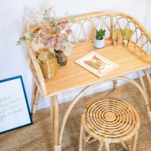 tabouret june rotin saudara collections decoration my little cocoon brest