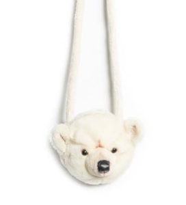 sac main meluche ours blanc wild and soft my little cocoon brest