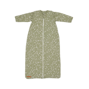 gigoteuse manches amovibles olive wild flowers textile bebe chambre my little cocoon brest