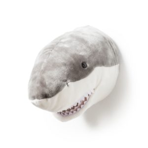 trophee tete animal requin wild and soft decoration chambre bebe enfant my little cocoon brest