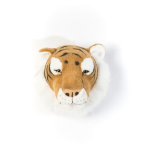 trophee tete animal tigre wild and soft decoration chambre bebe enfant my little cocoon brest