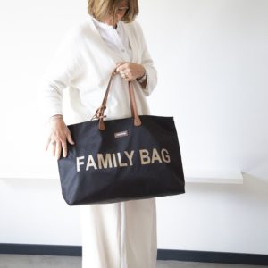 sac weekend family bag noir dore navy childhome my little cocoon brest